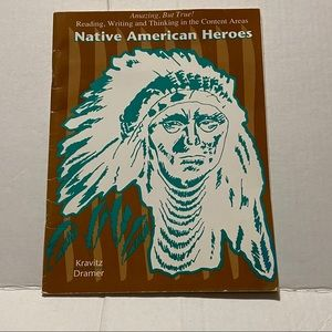 Native American Heroes Book